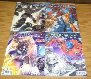 Transformers Magazine #1-4 VF/NM complete series 2007 IDW comics set lot 2 3