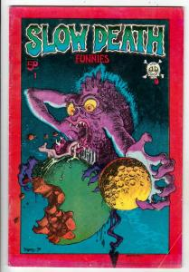 Slow Death #1 (Mar-70) VG Affordable-Grade Flakey Foont