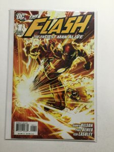 The Flash The Fastest Man Alive 1 Near Mint- Nm- 9.2 Dc Comics