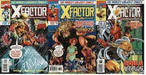 X FACTOR 136-138  Nothing Lasts Forever  SABRETOOTH