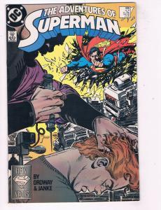 Adventures of Superman (1987) #445 DC Comic Book Brainiac Jimmy Olsen HH3