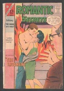 Romantic Secrets #43 1963-Charlton-Dick Giordano underage romance cover-FR/G