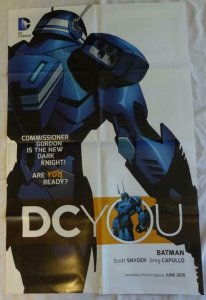 DC YOU BATMAN Promo Poster , 22 x 34, 2015, DC,  Unused more in our store 034