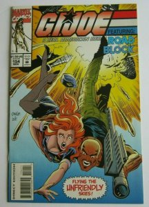GI Joe #154 NM/MT 9.6-9.8 High Grade Low Print Run HTF 1st Print Marvel Comics