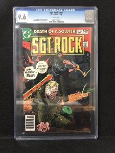 Sgt.. Rock #347 (DC, 1980) - CGC 9.6 w/WHITE Pages