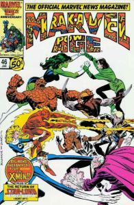 Marvel Age #46 FN; Marvel   save on shipping - details inside