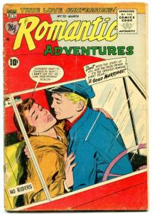 My Romantic Adventures #75 1957-ACG-truck driver romance-sultry thrills- G
