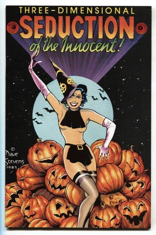 SEDUCTION OF THE INNOCENT 3-D #1-comic book-DAVE STEVENS  NM- Halloween