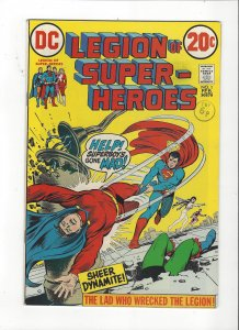 Legion Of Super-Heroes #1 (1973) Superboy Vs. The Legion High Grade