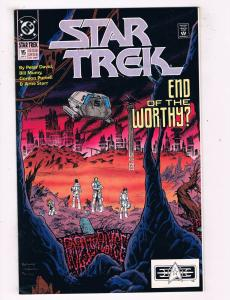 Star Trek #15 DC Comic Book Bill Mumy Peter David Kirk Spock Sulu HH1