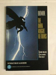 Batman The Dark Knight Returns Very Fine Vf 8.0 Tpb Sc First Print Dc Comics