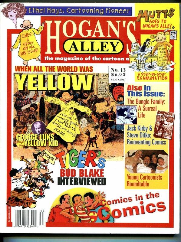 Hogan's Alley #13 2005-George Luks-Mutts-Bud Blake-Bungle Family-Rea Irvin-VF