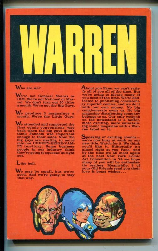 1973 Comic art Convention Program Book-Jack Kirby-Alex Toth-Sergio Aragones-VF
