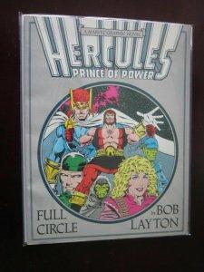 Hercules Full Circle #1 - GN graphic novel - 7.0? - 1988