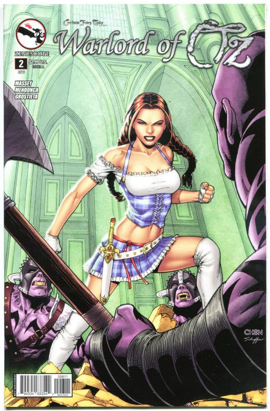 GRIMM FAIRY TALES Warlord of OZ #2 A, NM, Dorothy, 2014, more GFT in our store