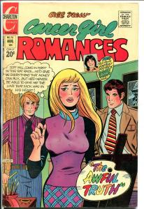 Career Girl Romances #70 1972-Charlton-headlight cover-lingerie panel-VF
