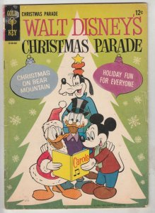 Walt Disney's Christmas Parade #3 (Jan-72) VG/FN+ Mid-Grade Scrooge McDuck, D...