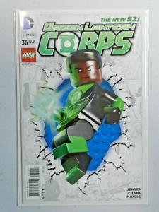 Green Lantern Corps #36B Lego Variant 2nd Series 8.0 VF (2015)