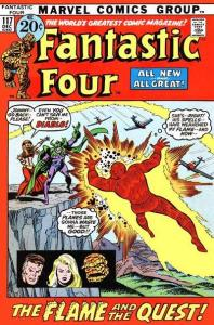 Fantastic Four (1961 series) #117, Fine (Stock photo)