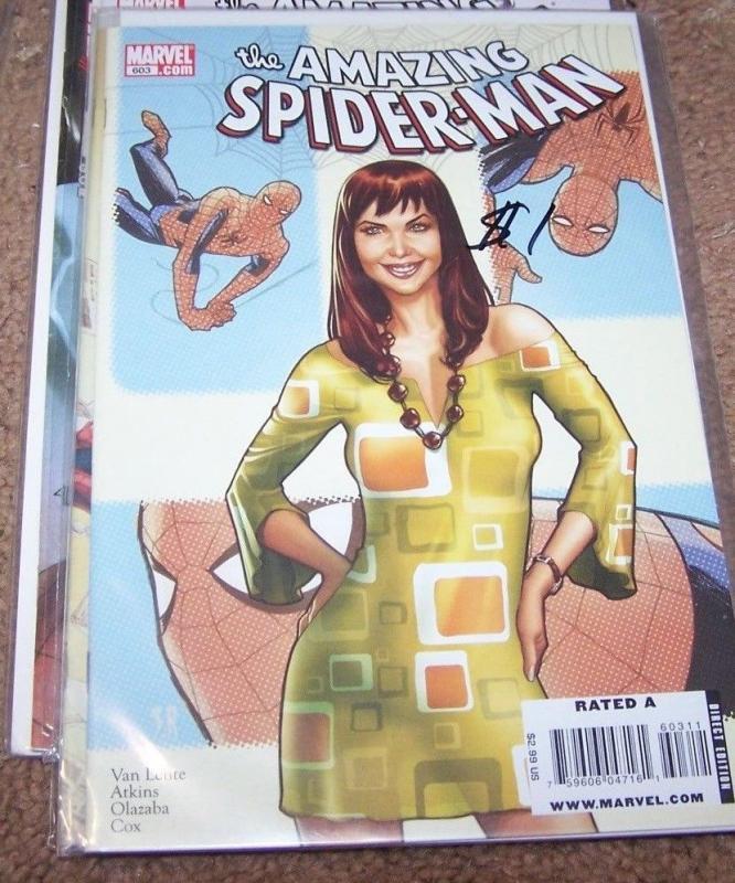 Amazing Spider-Man # 603  2009, Marvel) red headed stranger pt 3 mary jane chame