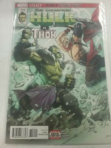 The Incredible Hulk Vs The Unworthy Thor  #712 NM Legacy  Marvel Comics NW46