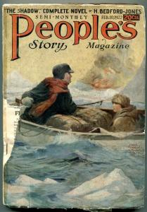 People's Story Magazine Pulp February 10 1922- SHADOW PROTOTYPE rare