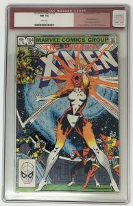 Uncanny X-Men 164 1st App Carol Danvers as Binary - KEY Captain Marvel Movie CGC