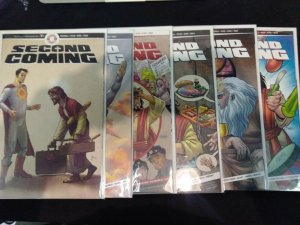 Second Coming #1-6, 1, 2, 3, 4, 5, 6 FULL RUN AHOY FIRST PRINT RELIGIOUS COMEDY