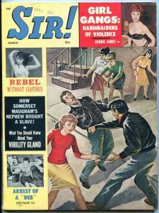 Sir! Magazine March 1962- Debbie Jones- Chief Joseph- Wendy Smith