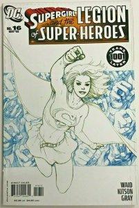 SUPERGIRL#16 VF/NM 2006 SKETCH VARIANT DC COMICS