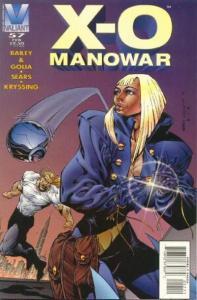 X-O Manowar (1992 series) #57, VF+ (Stock photo)