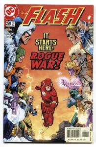 Flash #220-2005-Rogues Gallery - Rogue War story Comic Book