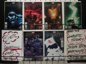 INFINITY (2013) 1A-6A THANOS vs Marvel Super-Heroes COMICS BOOK