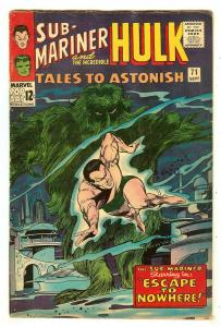 Tales To Astonish 71