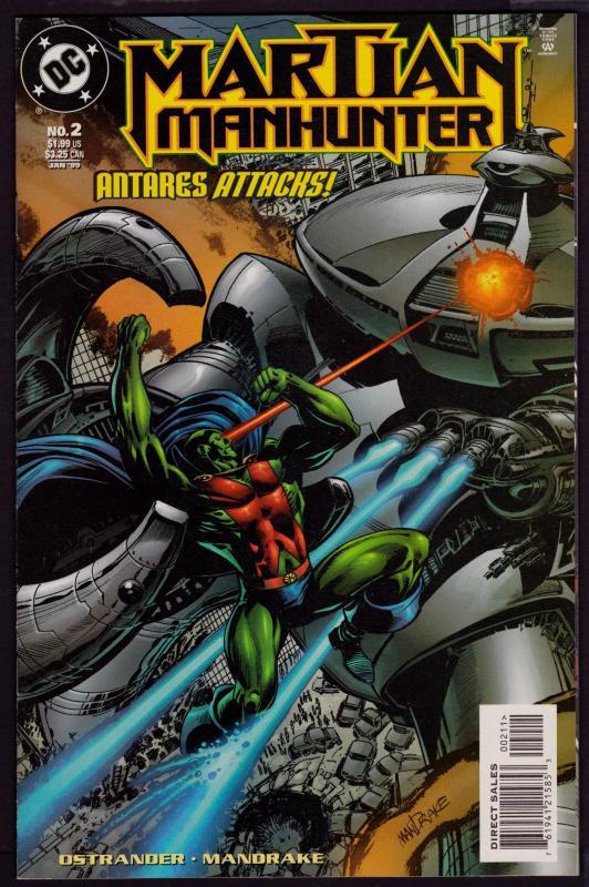 Martian Manhunter #2 (2nd Series)   9.4 NM