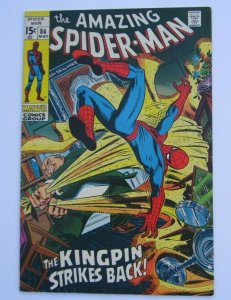 Amazing Spider-Man #84 FN+ Kingpin Appearance Marvel Bronze Age Comic 1970