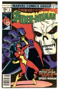SPIDER-WOMAN #3 1978- Brother Grimm F/VF