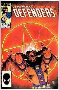 DEFENDERS #136, VF/NM, Angel, Valkyrie, Beast, 1972 1984, more Marvel in store