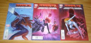 Shadowland: Daughters of the Shadow #1-3 VF/NM complete MISTY KNIGHT daredevil 2