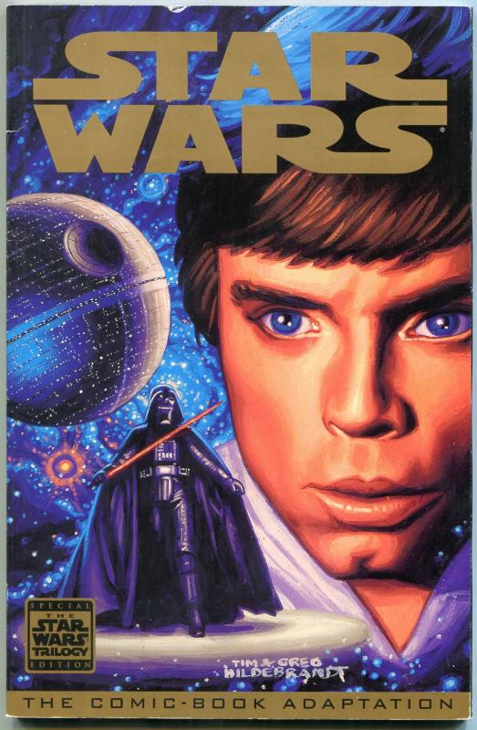 STAR WARS: A NEW HOPE SPECIAL EDITION-Trade paperback tpb-1st PRINT FN