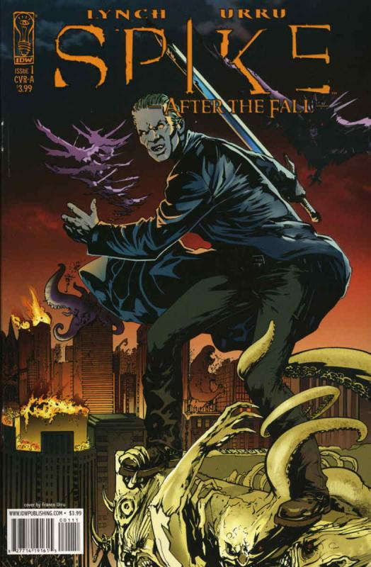 Spike: After the Fall #1A VF/NM; IDW | save on shipping - details inside