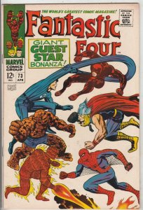 Fantastic Four #73 (Apr-68) NM- High-Grade Fantastic Four, Mr. Fantastic (Ree...
