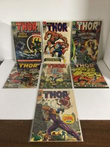 The Mighty Thor 134 135 136 137 138 139 140 Fn-Vf Fine-Very Fine 6.0-8.0