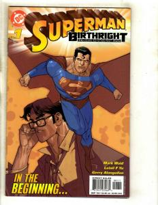 Lot Of 12 Superman Birthright DC Comic Books # 1 2 3 4 5 6 7 8 9 10 11 12 EK2
