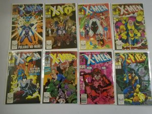 Uncanny X-Men lot 27 different from #250-300 8.0 VF (1989-93 1st Series)