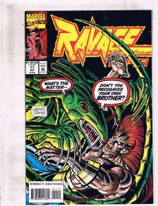 Lot Of 11 Ravage 2099 Marvel Comic Books # 11 12 13 14 16 17 18 19 20 21 22 HC2