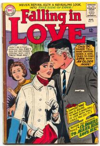 FALLING IN LOVE #77 1964-DC ROMANCE COMICS-Love With An older Man VG
