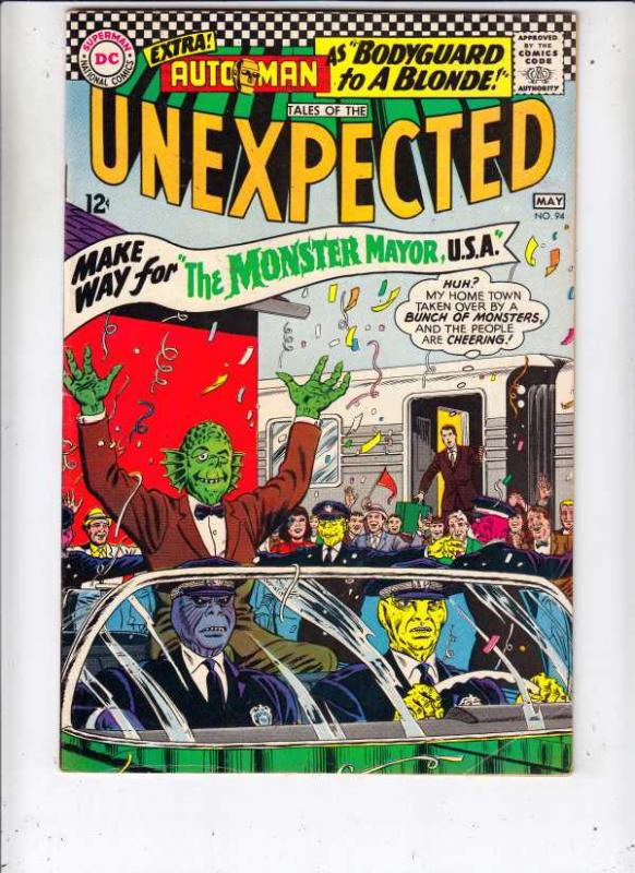 Tales of the Unexpected #94 (May-66) VF+ High-Grade