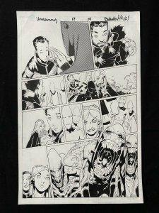 Uncanny X-Men #17 Page 14 Original Comic Book Art - Chris Bachalo