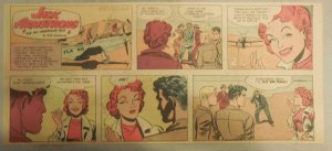 Jack Armstrong The All American Boy by Bob Schoenke 1/2/1949 Third Size Page !